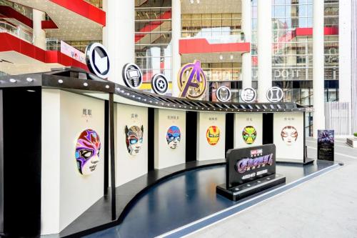 漫威宇宙排名 上海世茂广场携手漫威影业,带来4月观展盛宴