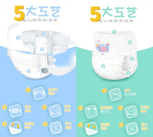 柔比舒系列纸尿裤 给宝宝柔薄的舒适体验