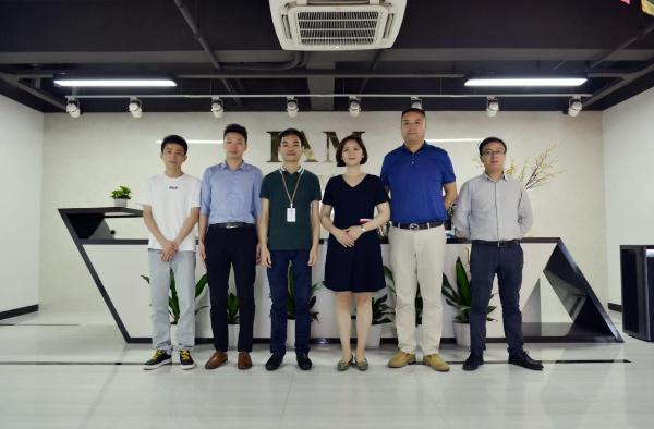 广东省室内环境卫生行业协会秘书长徐丹一行莅临IAM考察