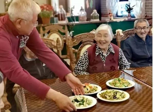 苏州红日养老院里的520表白
