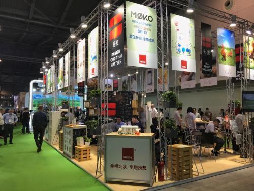 Mille参展亚洲顶级有机食品展,北欧奶粉第一品牌展实力!