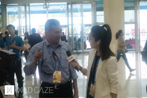 MAD Gaze联手中国移动惊艳亮相数字中国建设峰会