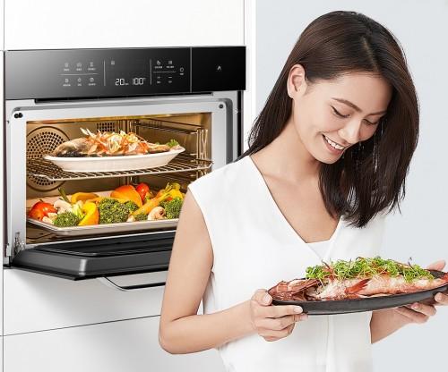 买蒸箱还是买烤箱?测评证明,老板蒸烤一体机C973X能让我们拥有整个美食界