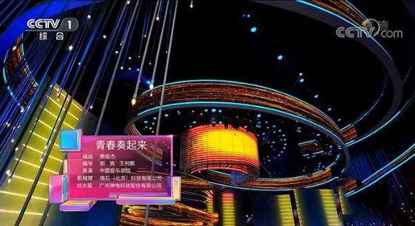 珞石机器人亮相央视五四晚会
