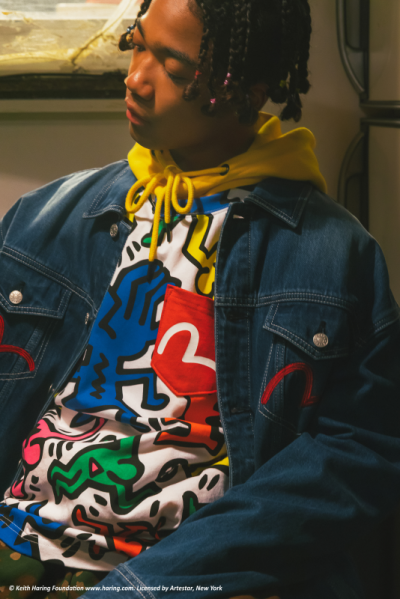 Keith Haring x EVISU 艺术限量联名系列 当纽约涂鸦艺术遇见日系街头潮牌