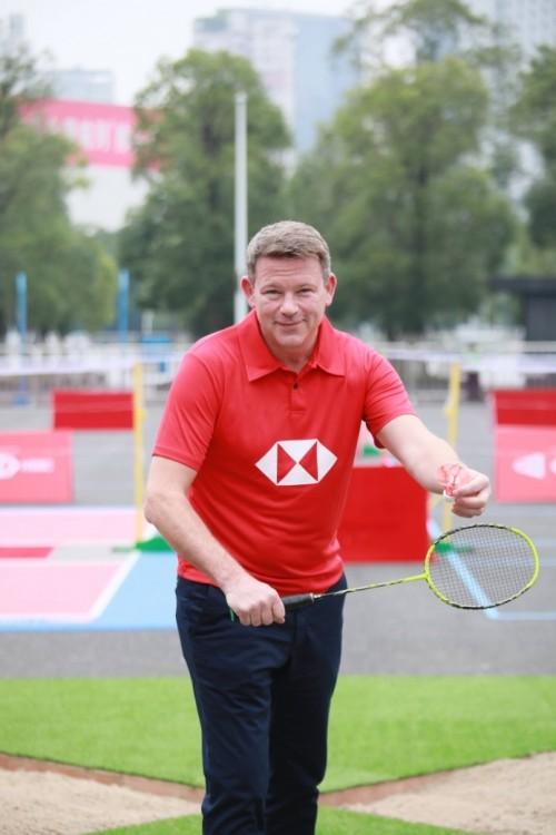 汇丰与世界羽毛球联合会携手打造全新户外运动活动—世界羽联户外羽毛球