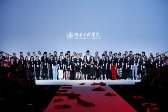 """2019中国国际大学生时装周河南工程学院专场发布会""""有態""""在京举行"""
