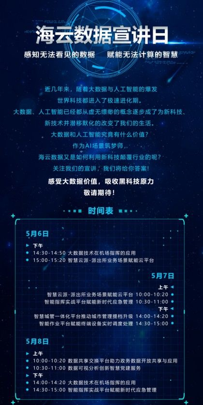 数字中国建设峰会开幕,海云数据AI场景创新赋能数字未来