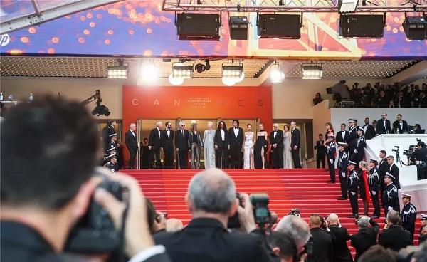 星耀戛纳!萃华携手法国著名影星璀璨电影节开幕式红毯