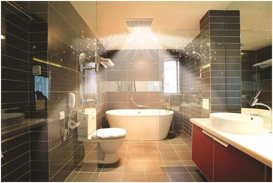 大金空调教你如何打造清爽的卫浴空间