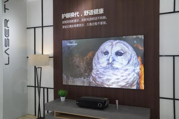 """销量猛增三倍,海信激光电视成为市场""""新宠儿"""""""