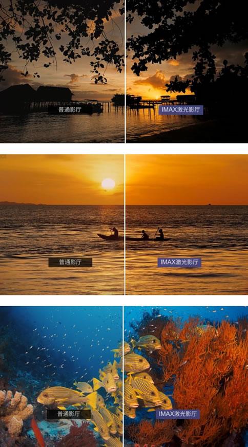 朝阳首家,北京英皇电影城IMAX激光影厅挂幕成功