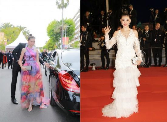 电影《眠》女主角索菲亚携国际旅行箱品牌爱可乐走进戛纳电影节