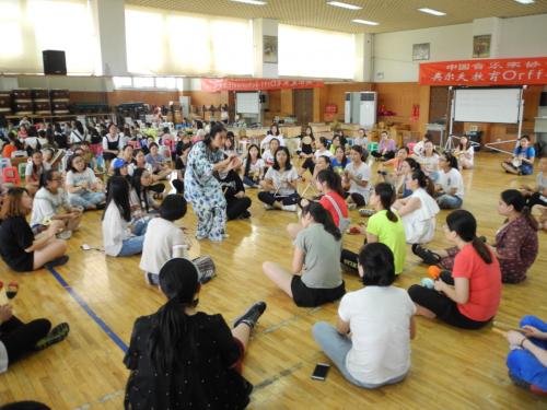 奥尔夫音乐培训班7.22在北京举办