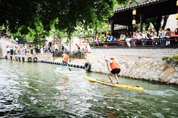 2019 南浔古镇国际桨板公开赛顺利举行