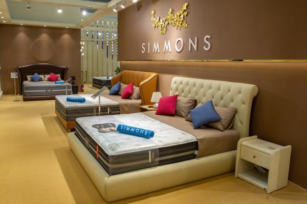 Simmons席梦思盛大亮相北京国际家居展
