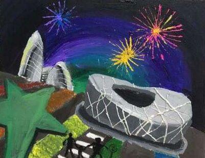情系双奥与世界冠军同行——全国青少年体育艺术作品展 麒艺果预选赛六•一成功举办