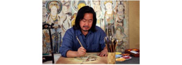 盛世飞天•东方秘语——浅析黄有为敦煌壁画艺术