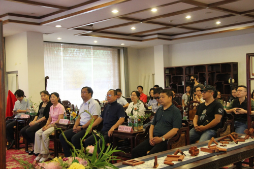 """""""中式设计师之家成立""""活动在龙顺成京作非遗文化园举行"""