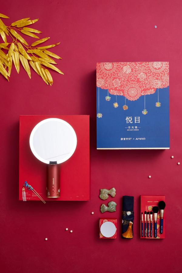 AMIRO与故宫文化的携手 传统文化底蕴与美妆黑科技的碰撞