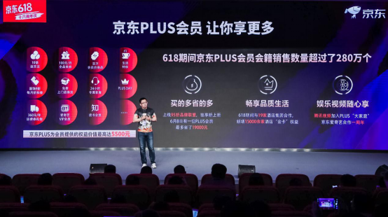 上京东先买PLUS会员 618京东PLUS会员会籍卖了280多万个