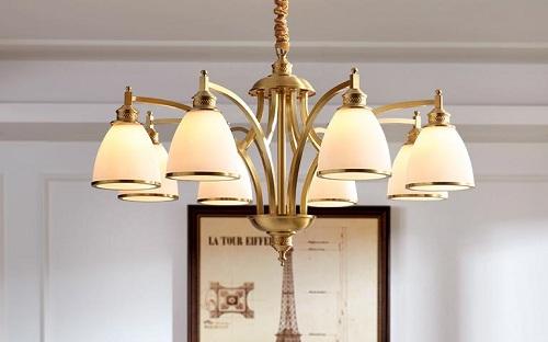 美式铜灯的新格局 月影灯饰凸显新风格