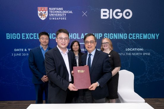 BIGO携手新加坡南洋理工大学,开启全球AI人才培养新篇章