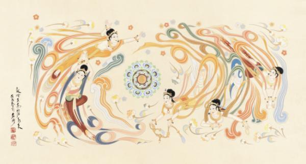 艺取敦煌——黄有为的壁画艺术