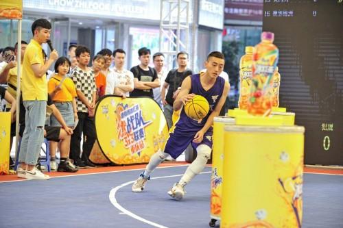 燃战队3X3大区赛痛快开战,康师傅冰红茶发掘西南篮球力量