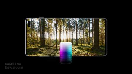 三星Galaxy S10超感官全视屏 带来一流的视觉体验