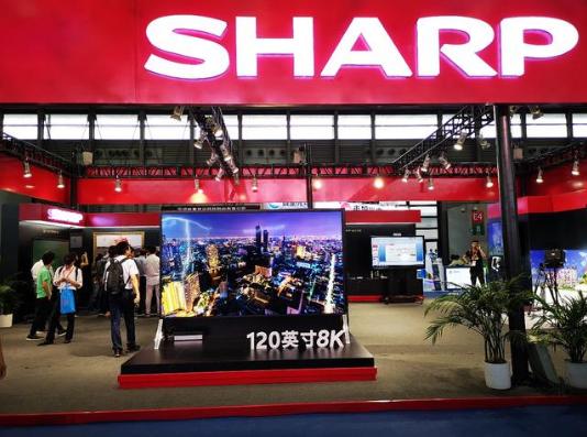 全球首台120英寸8K电视惊艳亮相夏普UDE2019展台