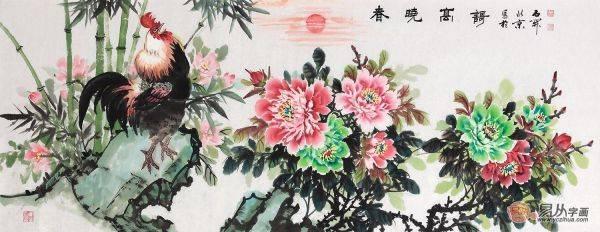 牡丹,花之富贵者也 一幅牡丹画挂家里什么位置好?图片