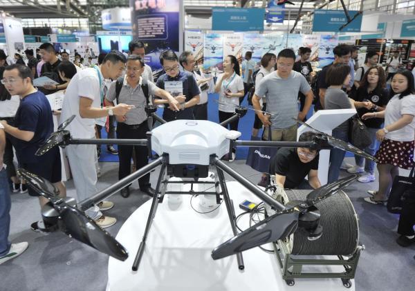 赛为智能发布赛鹰SY14KT系留旋翼无人机新品