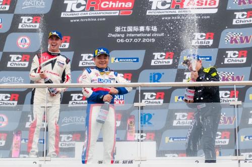TCR China绍兴落幕 力魔凡事得豪揽双冠东风本田夺最佳厂商MG首夺季军