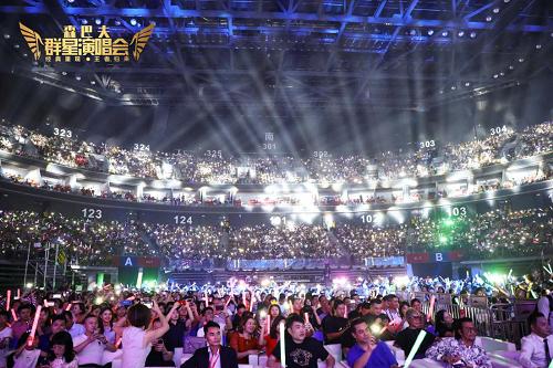森巴夫经典重现·王者归来群星演唱会完美收官万人齐声大合唱