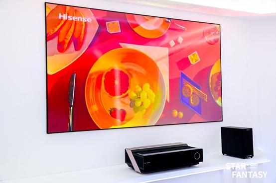 高端市场强势胜出 海信激光电视和叠屏电视摘得创新产品大奖