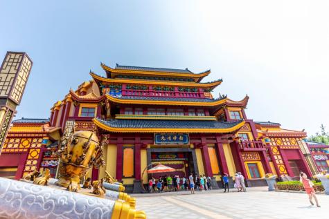 邯郸方特国色春秋开业在即 首批游客欢乐尝鲜