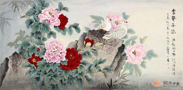 梧桐为树中之王,相传是灵树,能知时知令。《闻见录》:梧桐百鸟不敢栖,止避凤凰也。作为百鸟之王的凤凰身怀宇宙,非梧桐不栖。可见梧桐是高贵的。梧桐花是在春季里晚开的花朵,有着恬淡的气息,给人一种优雅的心情,时刻保持平静的心态。选择合适的家居装饰画不但能提高家居的雅气,和谐的家庭氛围,还能够提升我们的个人情操,个人修养,个人魅力,展现个人的美学价值。 【易从网】,一家致力于传播中国传统书画文化,引领当代书画艺术品运用于装饰、送礼、收藏的专业字画商城。让艺术走近大众,提升国民艺术水平是我们的使命和追求。登录