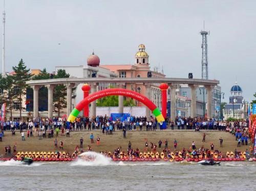 2019泛舟中国·中俄户外皮划艇大会饶河再起航