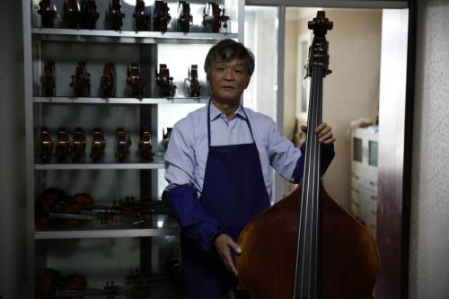 中国国家交响乐团新聘高级提琴修复师王特走马上任