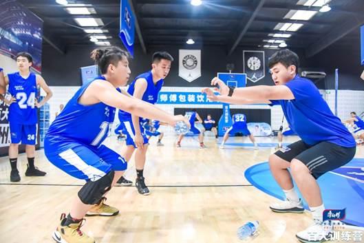 康师傅百大联盟训练营第二站开营 携球大咖打造青少年人才摇篮