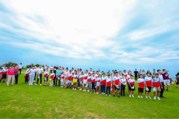 """""""倍享杯""""2019大连全国青少年高尔夫球公开赛在长兴岛开幕"""