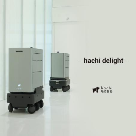 哈奇智能参加世界机器人大会 bingo+delight双星亮相