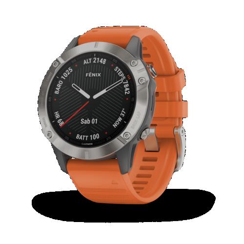 Garmin佳明Fenix 6系列GPS导航手表正式发布,更专业更可靠