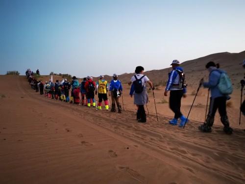 徒驴体育:寻迹丝路戈壁徒步挑战赛圆满成功