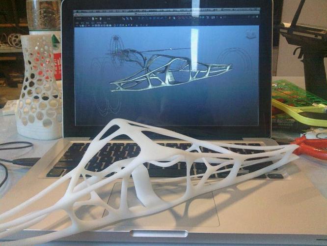 北汽技师学院,3D打印的高教创新应用