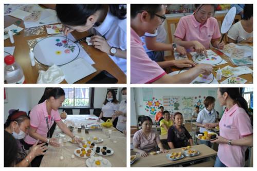 佩琪集团与上海残联机构开展爱心活动