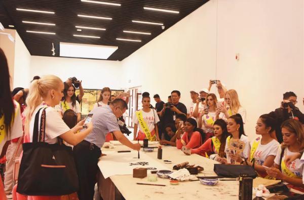 2019世界旅游小姐全球集结仪式在青岛即墨举行