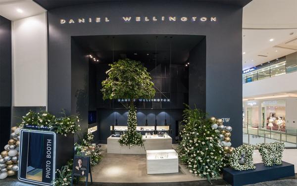 Daniel Wellington全新ICON概念店暨中国第300家店 入驻重庆来福士购物中心