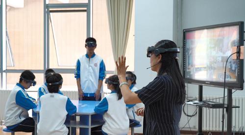 影创科技助力全国首场四地5G MR全息物理名师公开课圆满举行